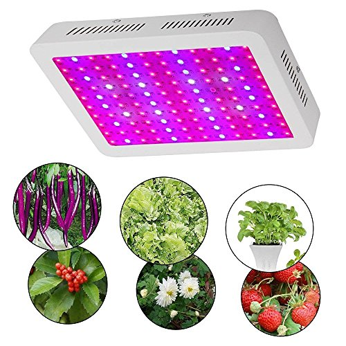 BHao 600W Double Chips Led Grow Light Full Spectrum with UV and IR for Greenhouse and Indoor Plant Flowering Growing (600W) Review