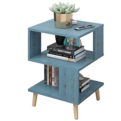 pretty nice 656f2 6bb5b Amazon.com: Bedside table XIAODONG Side Table Coffee Table ...