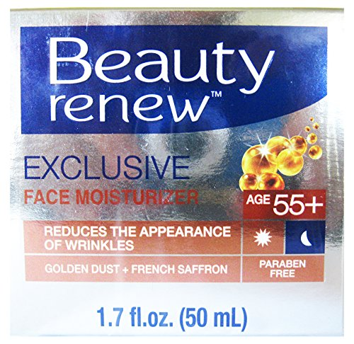 Beauty Renew 55+ Exclusive Day & Night Cream Golden Dust and French Saffron 1.7 fl. ()