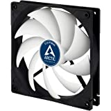 ARCTIC F14 PWM - 140 mm Case Fan, PWM-Signal regulates Fan Speed, Very Quiet Motor, Computer, Fan Speed: 200-1350 RPM…