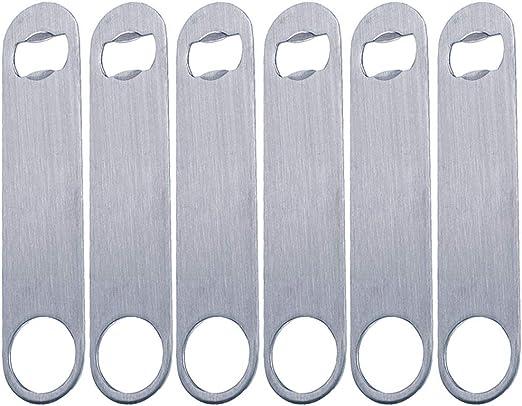 Professional Restaurant Bar Blade Bottle Opener Heavy Duty Stainless Steel T