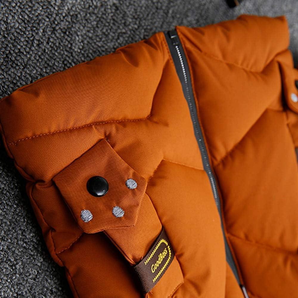 WARMSHOP Fashion Kids Boys Girls Warm Coat Winter Loose Cute Hooded Thick Warm Zipper Coat Jacket Outerwear Clothes