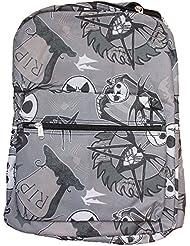 Disney Nightmare Before Christmas Jack Skellington Backpack (Light Gray)