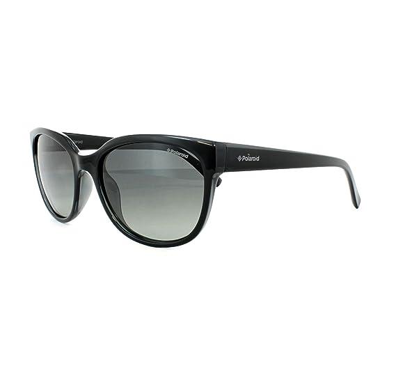 Polaroid Damen Sonnenbrille Pld 4030/S LB D28, Schwarz (Shiny Black/Green Sf Pz), 55