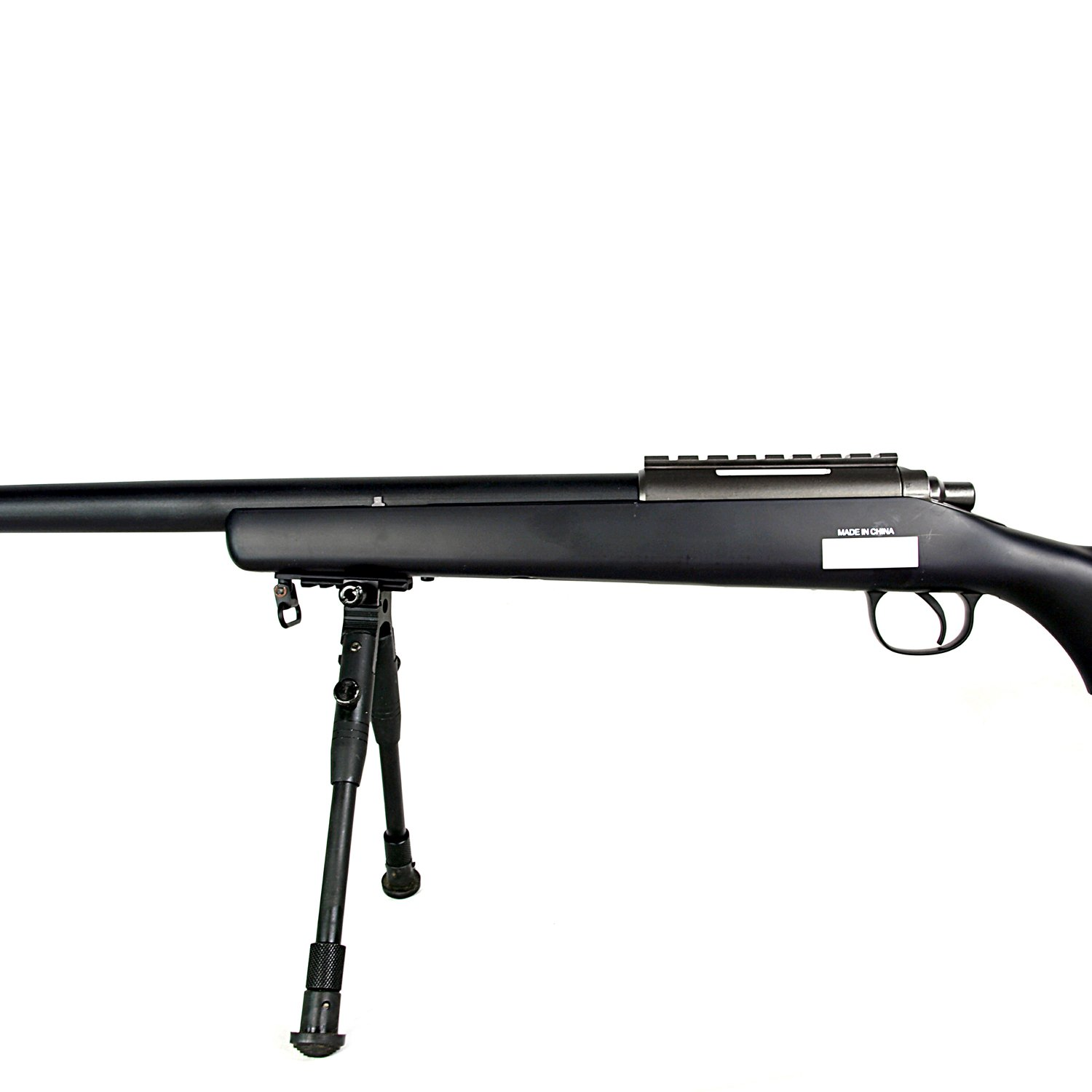 BBTac Airsoft Sniper Rifle VSR-10 - Bolt Action Powerful Spring Airsoft Gun with Hunting Scope and Bipod
