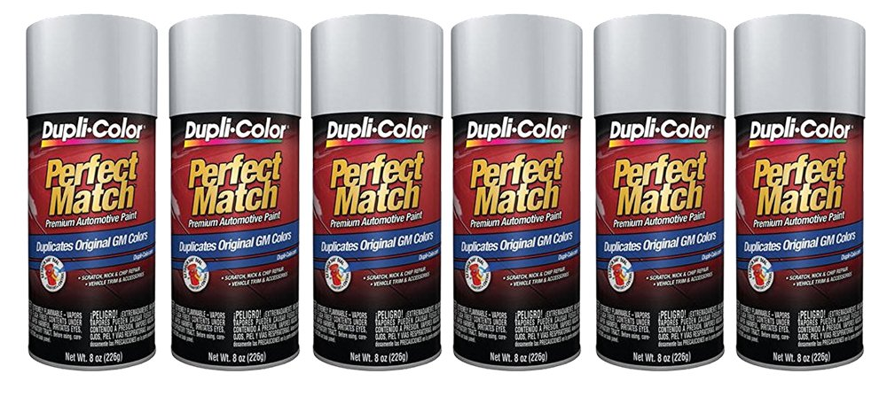 Dupli-Color Paint Bgm0550 Switchblade Silver (M) - Pack of 6