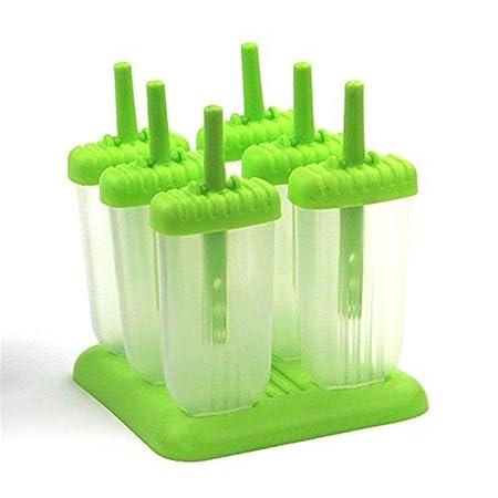 Compra Vale® 6 Cell jugo Congelador polo de hielo para hacer ...