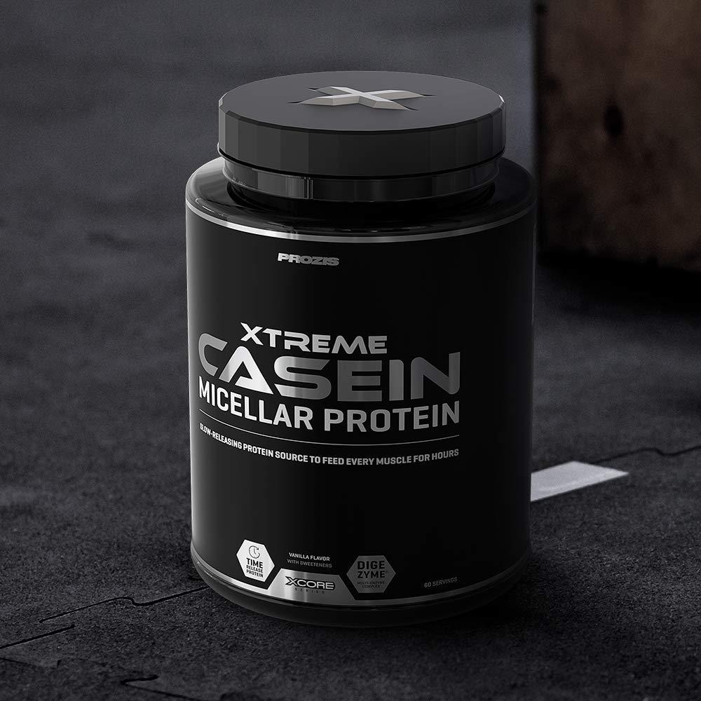 Xcore Nutrition Xtreme Casein, Sabor Vainilla - 2000 gr ...