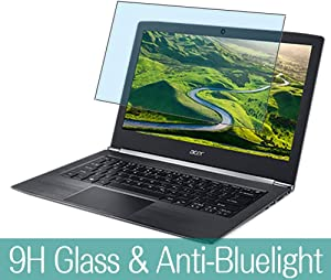 Synvy Anti Blue Light Tempered Glass Screen Protector for ACER Aspire S5-371 / S5-371T 13.3