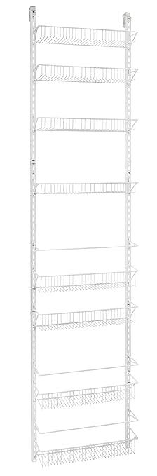 ClosetMaid Adjustable 8 Tier Wall Rack 18u0026quot; Wide   1233
