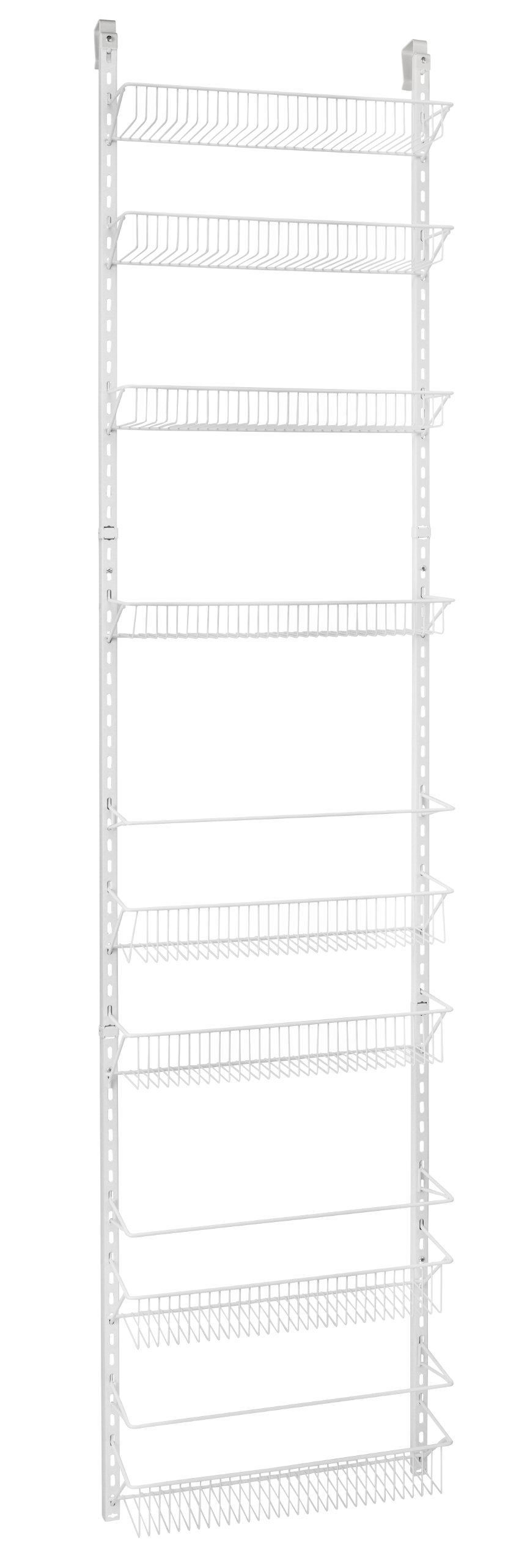 ClosetMaid 1233 Adjustable 8-Tier Wall and Door Rack, 76-Inch Height X 18-Inch Wide by ClosetMaid