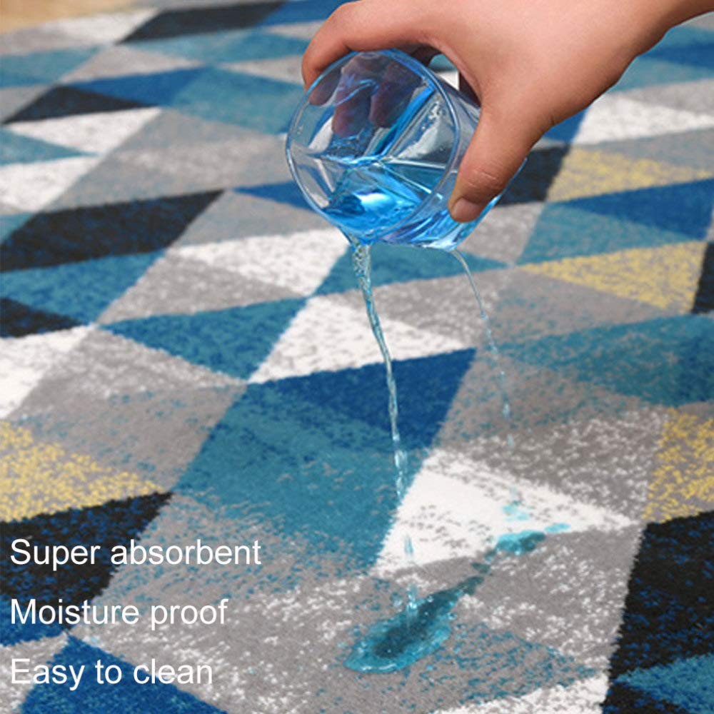 JYY Nordic 3D Gedruckt Gedruckt Gedruckt Teppiche Für Schlafzimmer Wohnzimmer Moderne Abstrakte Tee Tischteppiche Anti-Slip Bad Matten Küche Matte,B-160  230cm B07MD19JF1 Teppiche 170ee9
