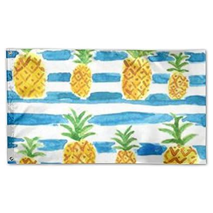 amazon com bihvlpa decorative yard flags home pineapple pattern