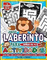 Juego Laberinto Para Niños De 4-6 Actividades: