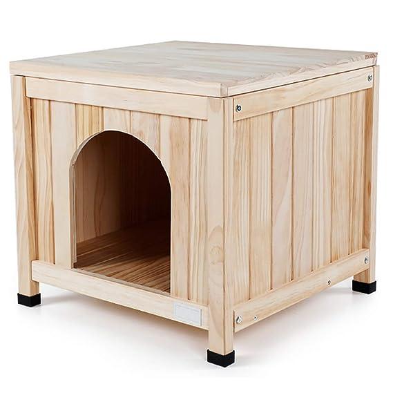 Perreras Madera Casa de Gato Casa for Perros Jaula Interior ...