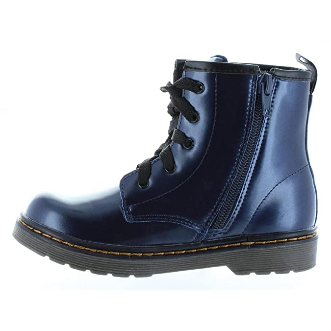 Girl Mid boots XTI 54011 METALIZADO NAVY Size 34: Amazon.co.uk: Shoes & Bags