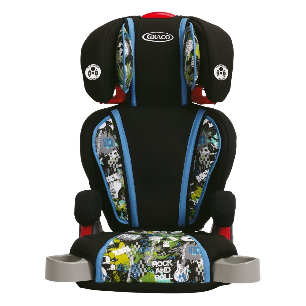 Amazon.com : Graco High Back Turbo booster Seat, Rock out : Baby