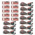 WMYCONGCONG 10 PCS Endstop Mechanical Limit Switch with Cable for 3D Printer RAMPS Prusa Mendel RepRap CNC Arduino Mega 2560