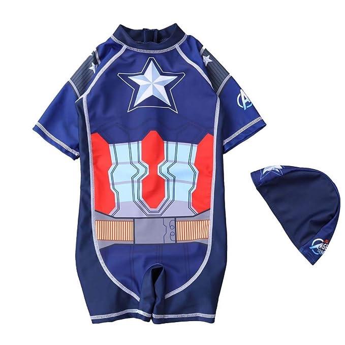 Amazon.com: Spiderman UPF50 - Traje de baño para niños ...