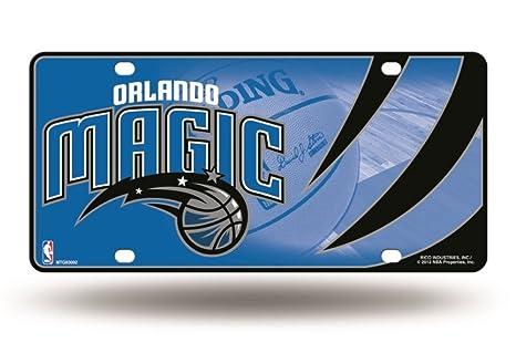 Desconocido NBA Atlanta Hawks Metal Auto Etiqueta, Unisex, Team ...