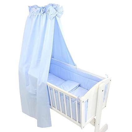 Tuptam Unisex Baby Wiegen Bettwäsche Set 6 Tlg Farbe Blau Anzahl