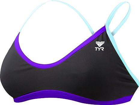25b332d6d8faa TYR Women s Durafast Lite Solid Brite Crosscut Fit Workout Bikini ...