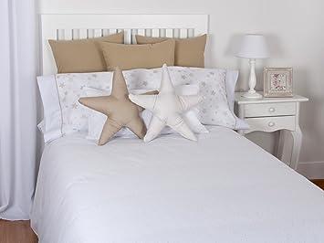 a2ccf01874345 Tiendas Mi Casa - Funda Nórdica Reversible Estrellas (Cama 90 cm (150x220  cm)