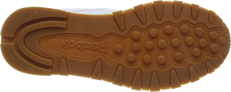 Reebok Herren Classic Leather Sneakers, Wei Szlig Weiß White Gum