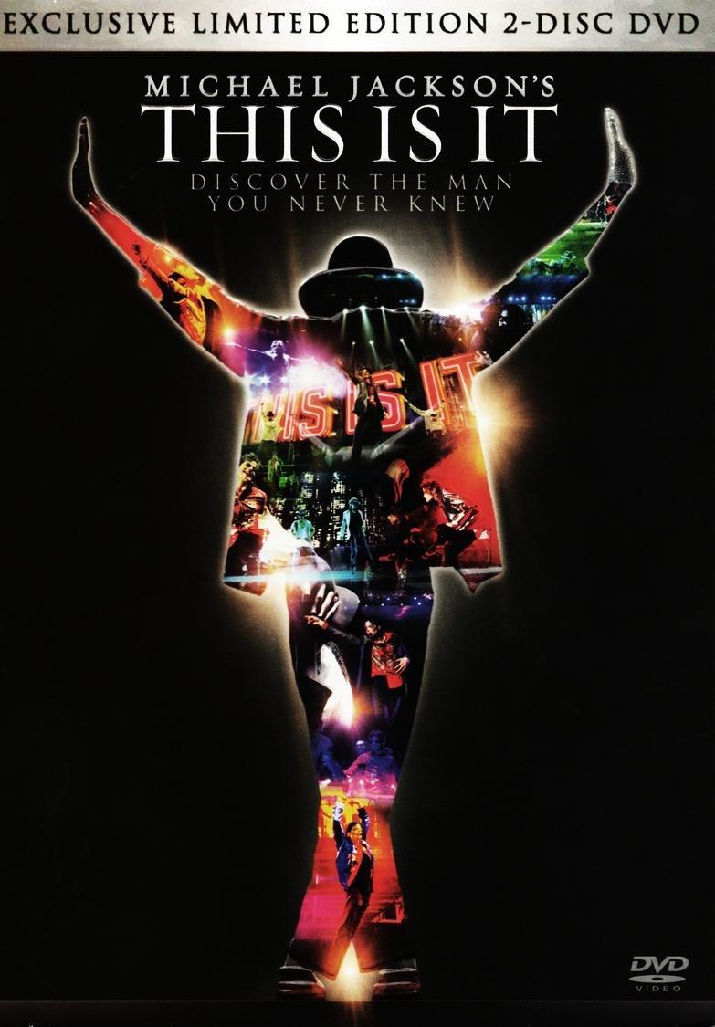 Amazon.com: Michael Jackson: This is It (2-Disc Limited Edition (DVD): Michael Jackson, Kenny Ortega: Movies & TV