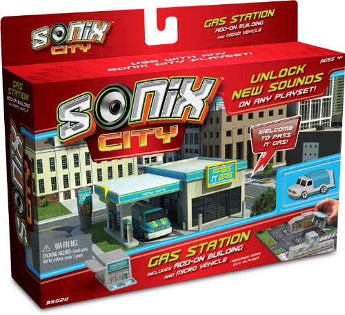 Sonix City Gas Station Building Add-on