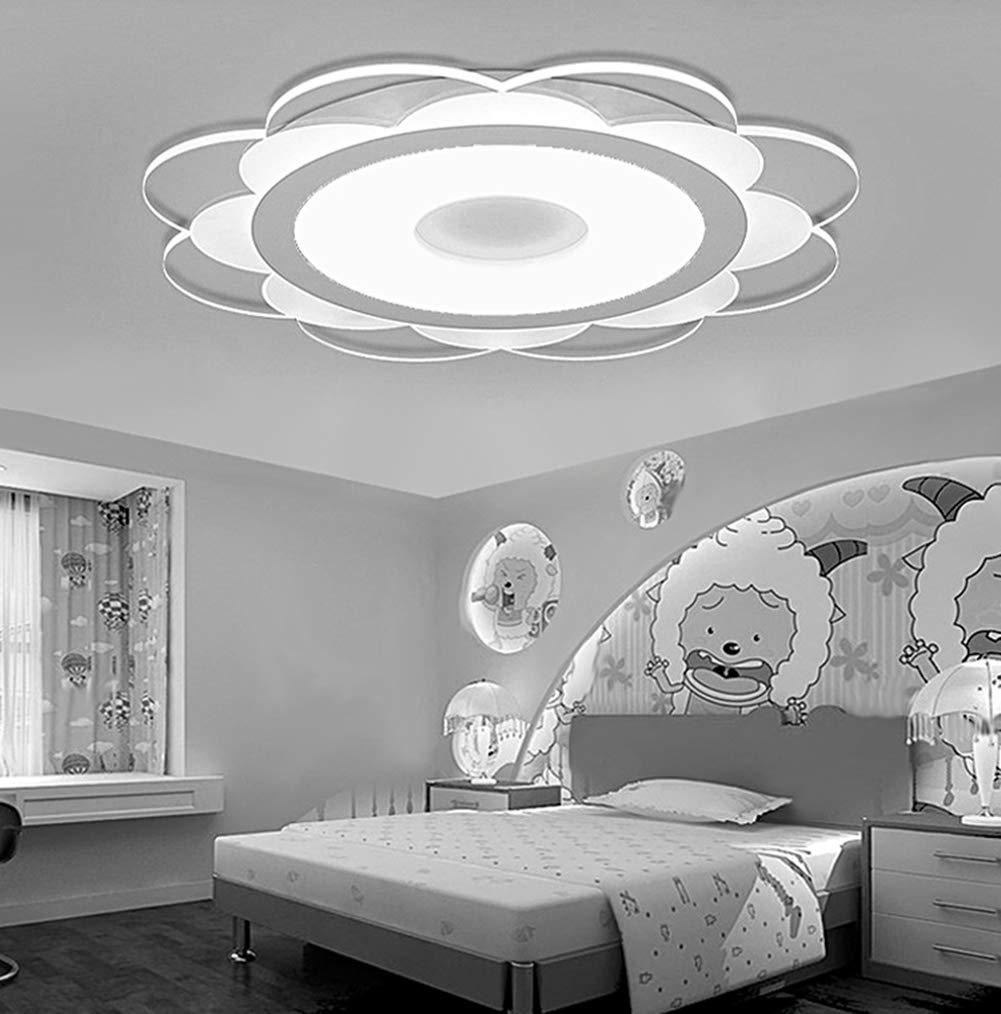 OOFAF LIGHT LED-Helllicht, Moderne Acryl-Ultra-Dünne Blaume Form LED-Ceiling LED-Ceiling LED-Ceiling Lights für Living Room Bedroom,Monochromaticlight,42  42cm d9eaa5