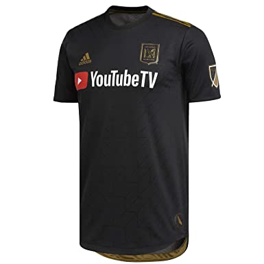 Amazon.com  adidas Men s Los Angeles Football Club Authentic Home ... 989b66f77