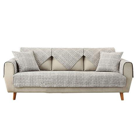 HiiGlife Cojín de sofá Toalla de algodón for sofá Cobertura ...