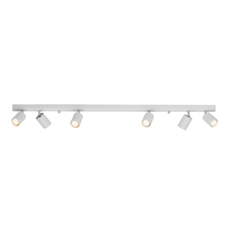 Design ceiling light spotlight bar 6-Bulb for 6x GU10maximum 35W Length: 1,19m [Energy Class A++] Lightbox LB00000383