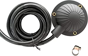 Air Foot Pedal, Briidea Air Foot Pedal Switch for Drain Cleaning Machines, With 8' Long Hose, Fits Ridgid, General, Spartan, Electric Eel, Trojan