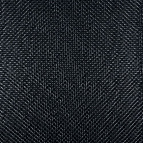 G001 Black Woven Rattan Textured Vinyl By The Yard