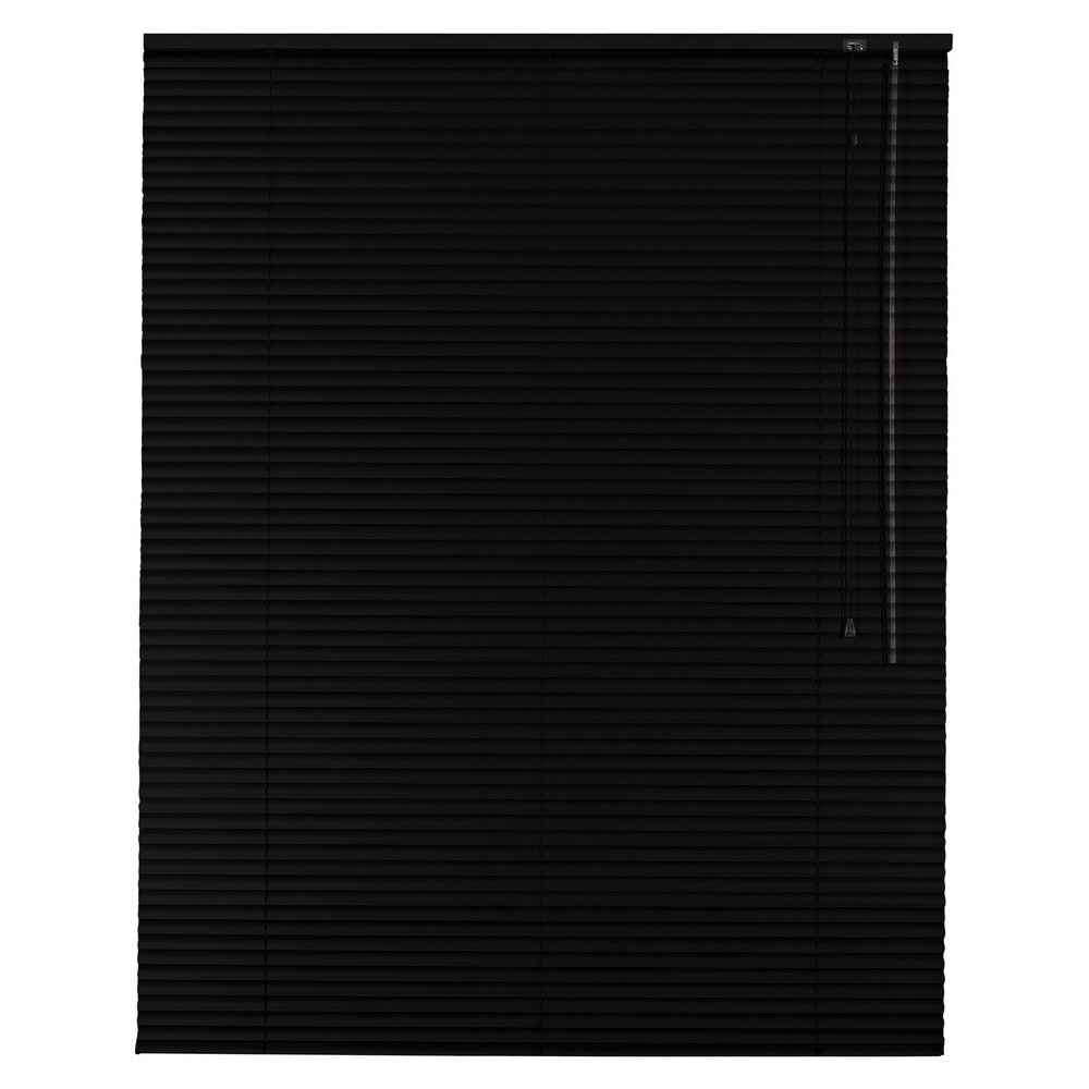Sonnenschutz-HH Aluminium Jalousie Standard 135 x 150 cm schwarz / 135x150 cm/Alu-Jalousie Jalousette Fensterjalousie