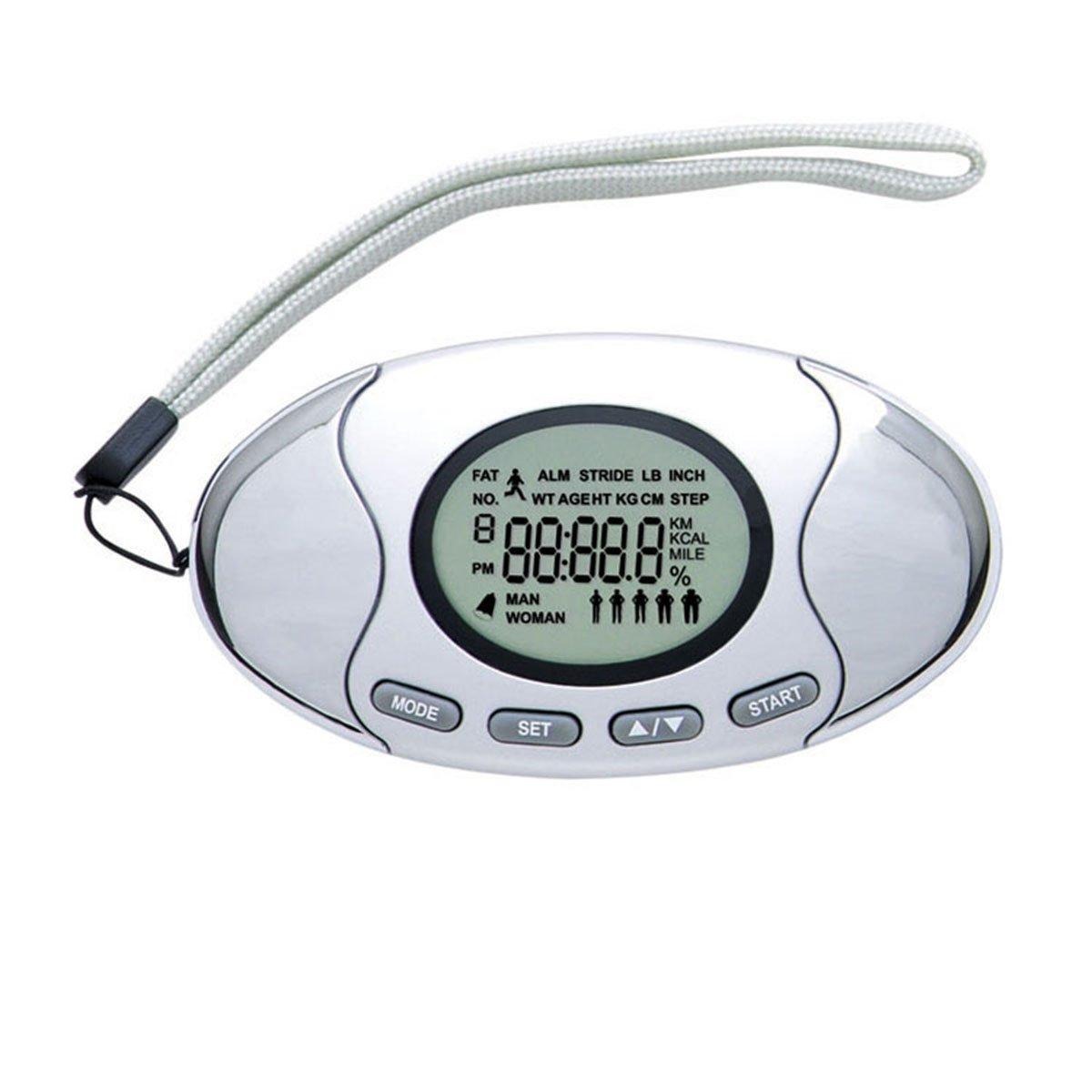 WINOMOデジタル歩数計ステップカウンタランニング歩数計ウォーキング距離カロリーカウンターwithストラップ   B074TFDL9Y