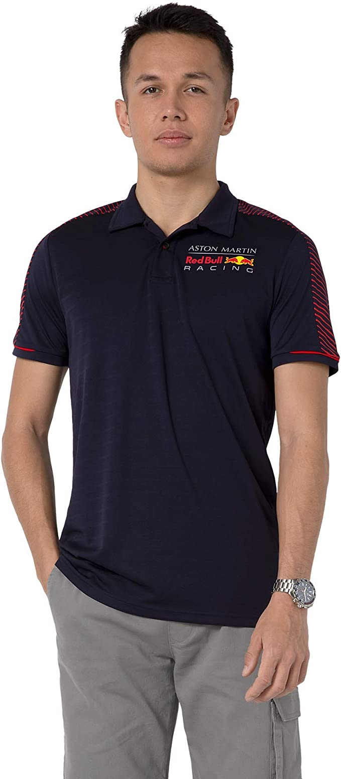 Red Bull Racing Redline Camisa Polo, Hombres - Official Merchandise