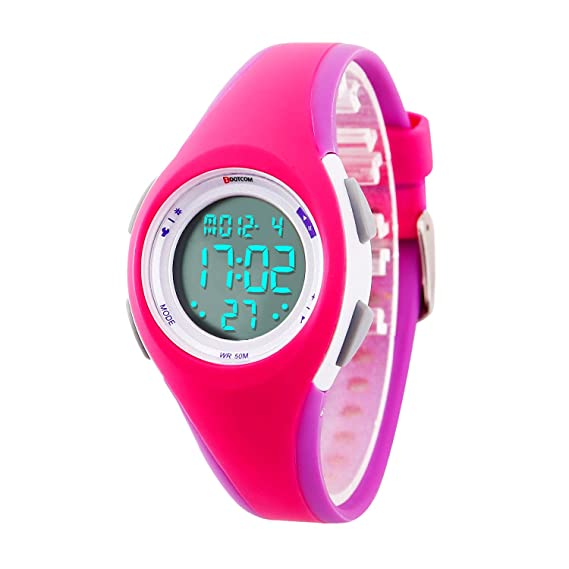 c3b24a71f Image Unavailable. Image not available for. Color: Kids Digital Sport Watch  Outdoor Waterproof Watch with Alarm for Child Boy ...