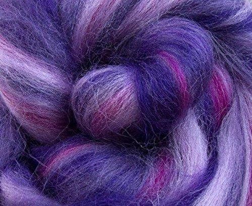 Molten Designs Merino Felting Wool - Cerise Vein