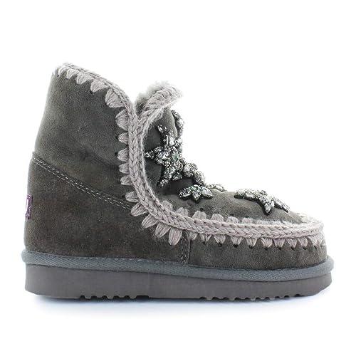 Mou Scarpe da Donna Stivaletto Eskimo 18 Crystal Stars Grigio  Amazon.it  Scarpe  e borse 4046da8230c