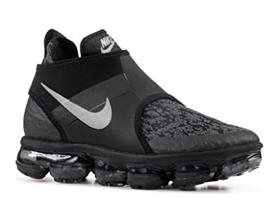 on sale 5fa5d 82184 NIKE Mens Air Vapormax Chukka Slip Black Reflect Silver Neoprene Size 8