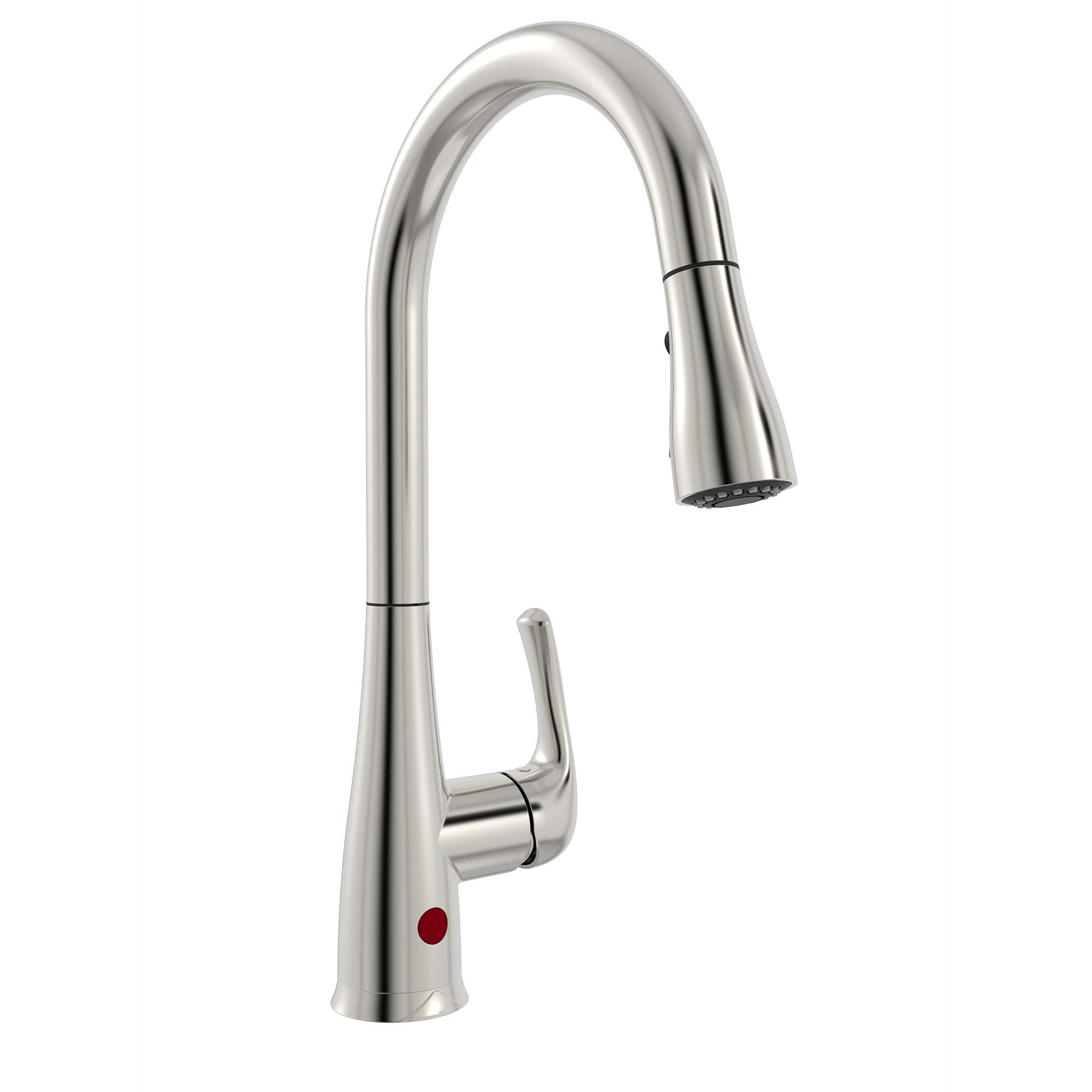 Belanger NEX76CBN 1-Handle Movement Sensor Kitchen Sink Faucet with Pull-Down Spout, Brushed Nickel Finish by Plumb Pak