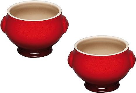 JLWM Bol /à Soupe avec 2 Poign/ées Et Couvercle 2000ML Bols /à Soupe avec Poign/ées Cuill/ère en Chinoise Porcelaine C/éramique Four Micro Onde Cuisine Japonais Grand pour Bouillon-Blanc