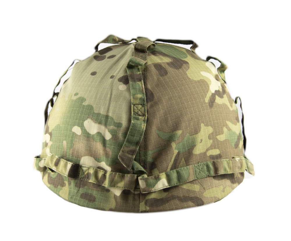 Kids Combat Helmet, with Multicam Cover, Fits 5-12 Years