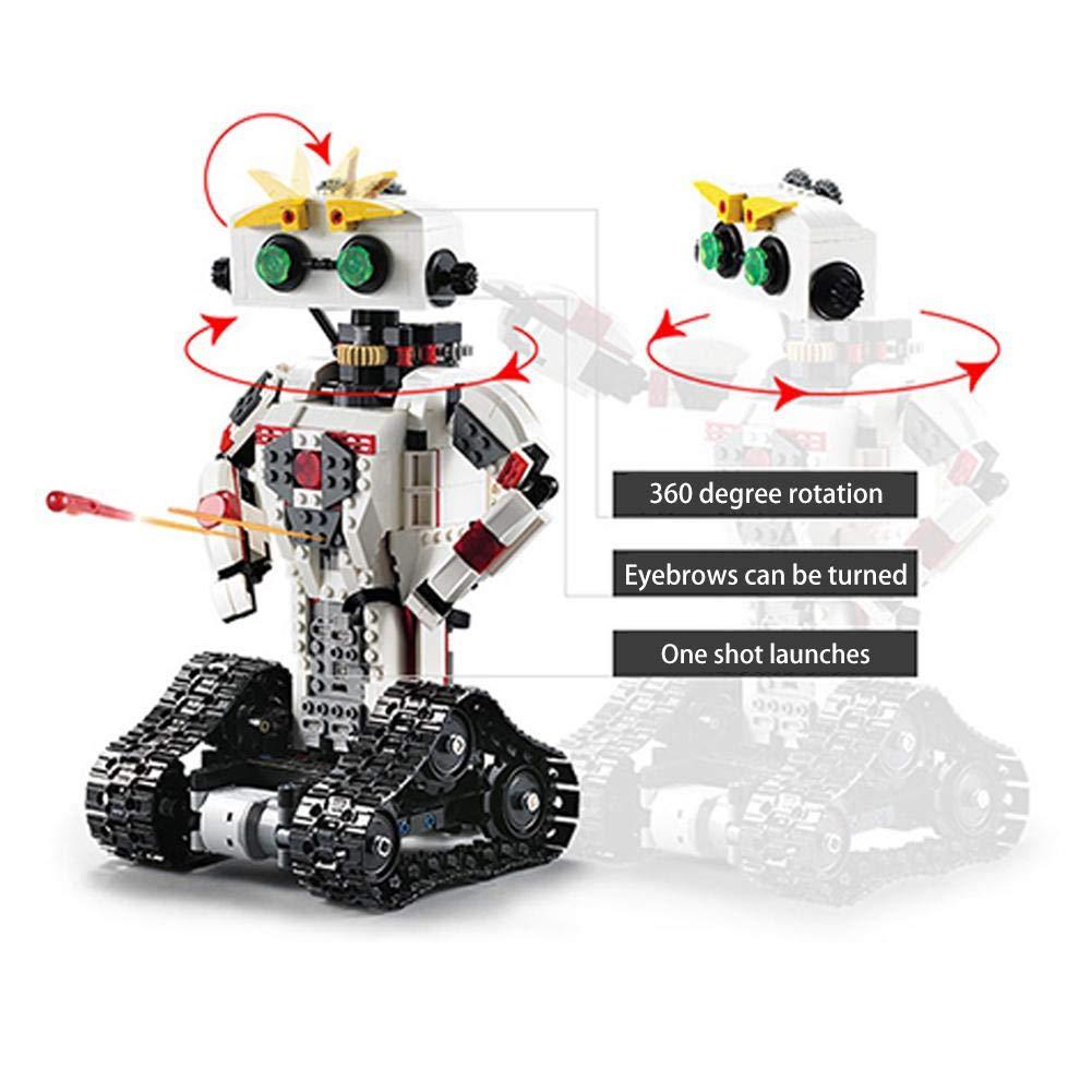 Elektrische RC roboter bausteine spielzeug Bausteinroboter RC-Steuerungsroboter Educational Konstruktionsbaukasten Kreativ Spielzeug f/ür Kinder