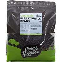 Honest to Goodness Organic Black Turtle Beans, 5kg