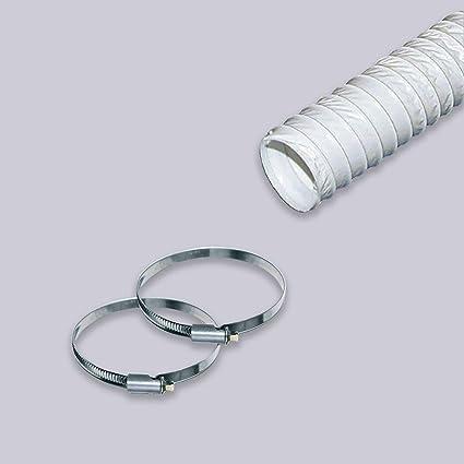 3 m Klimaanlage Wäschetrockner Abzugshaube Abluftschlauch PVC flexibel Ø 150 mm
