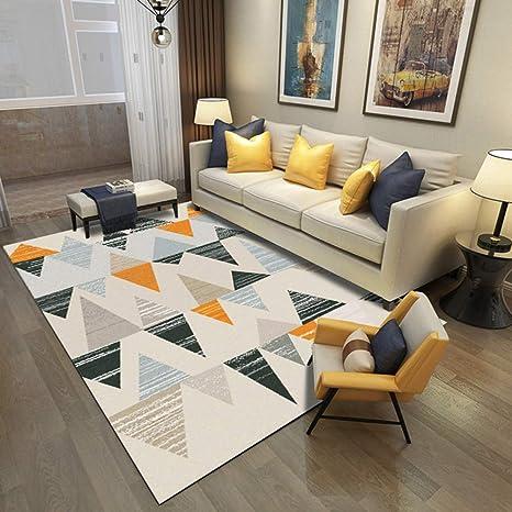 Insun Tapis de Salon Chambre Scandinave Design Tapis Déco Rectangle ...